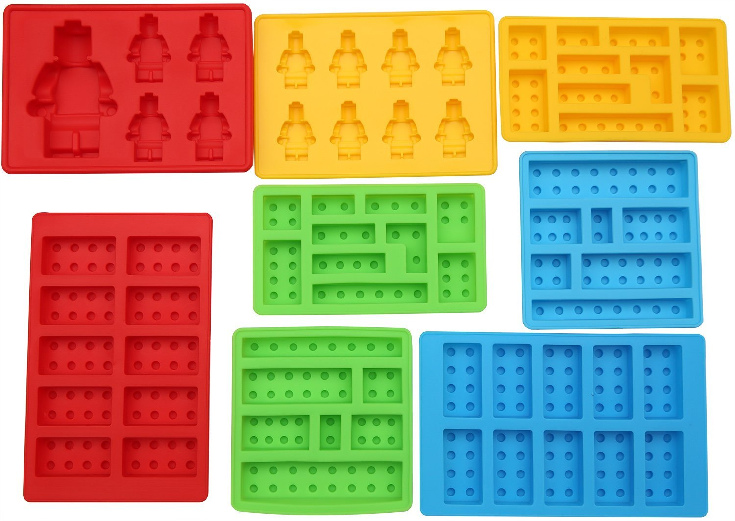 Silicone Lego Candy Molds for Awesome Desserts