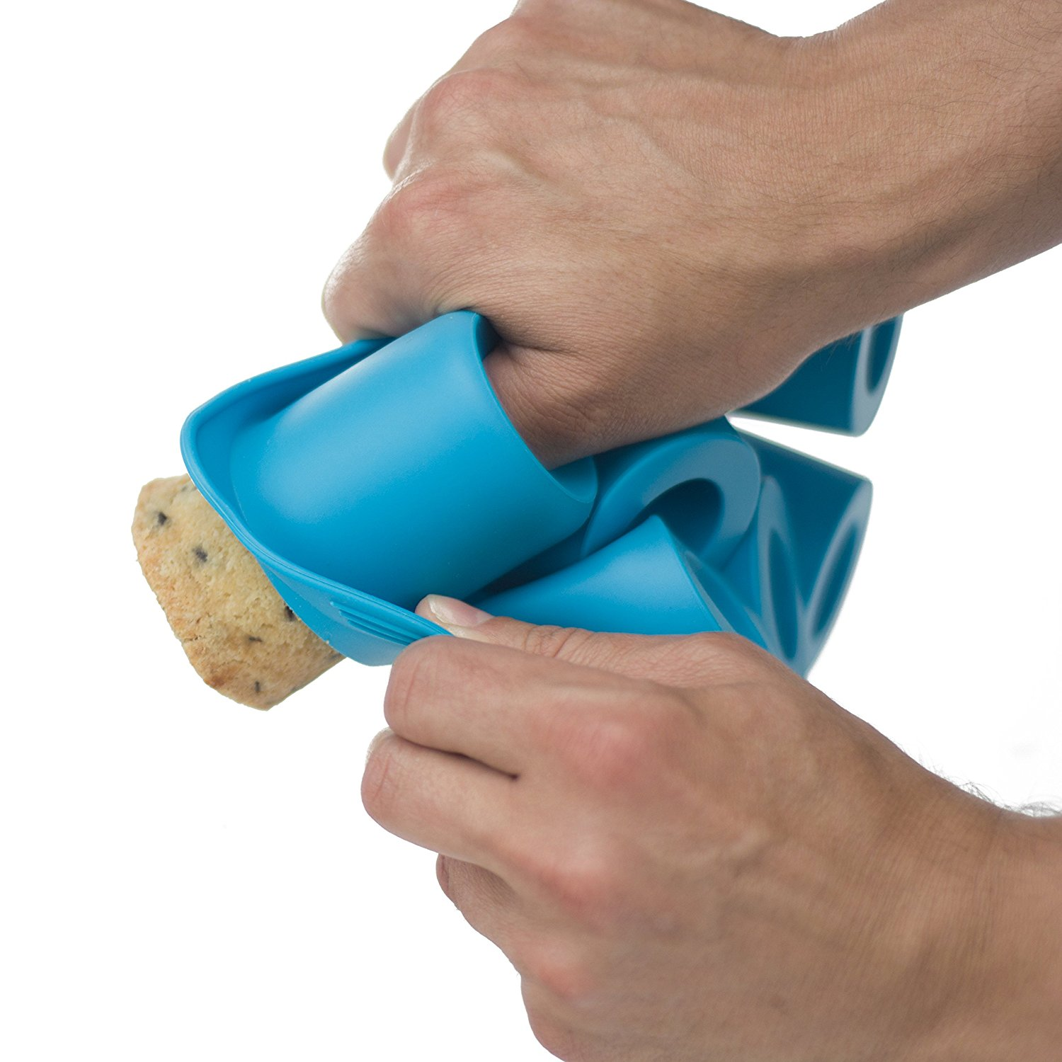 Silicone non-stick molds for easy preparation and cleanup
