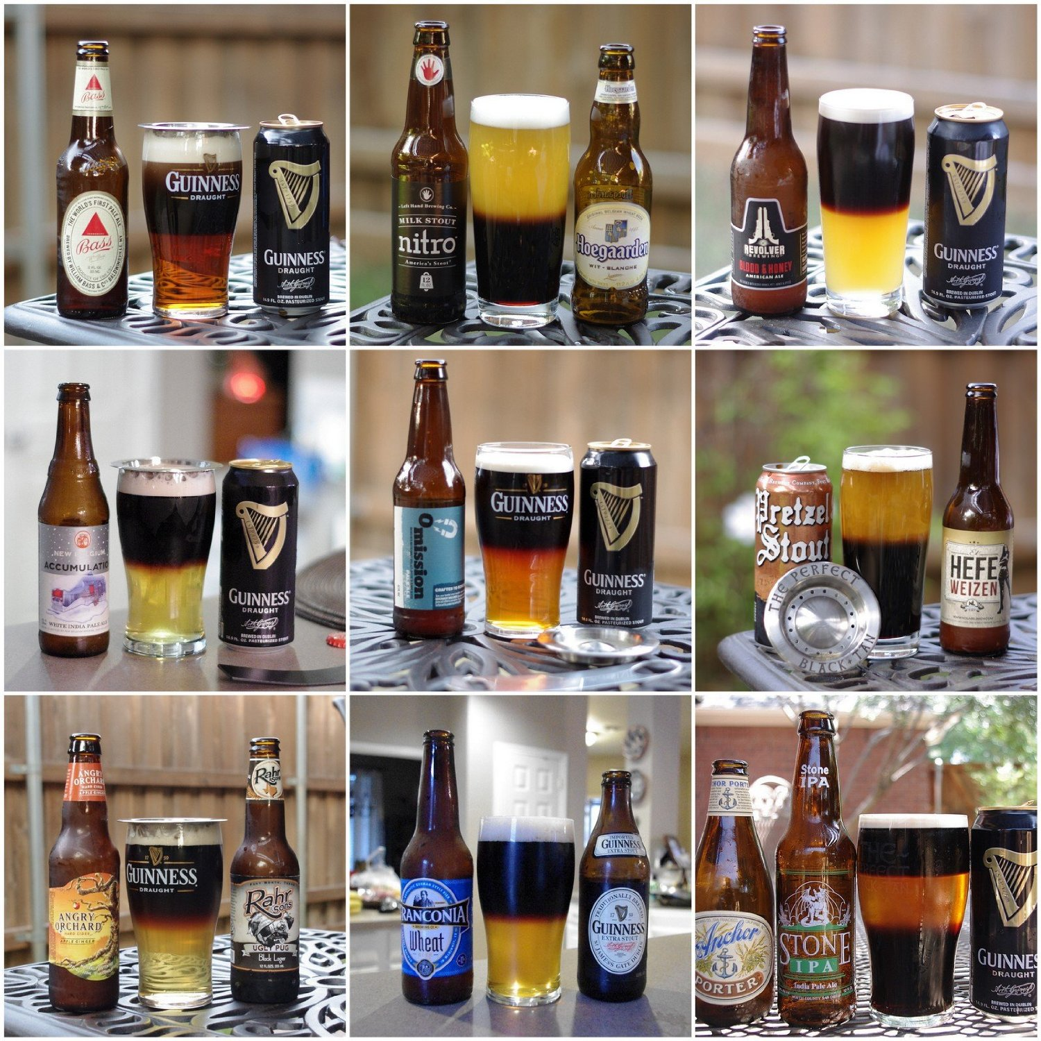 Beer Layering Tool For Black And Tans And Other Drinks