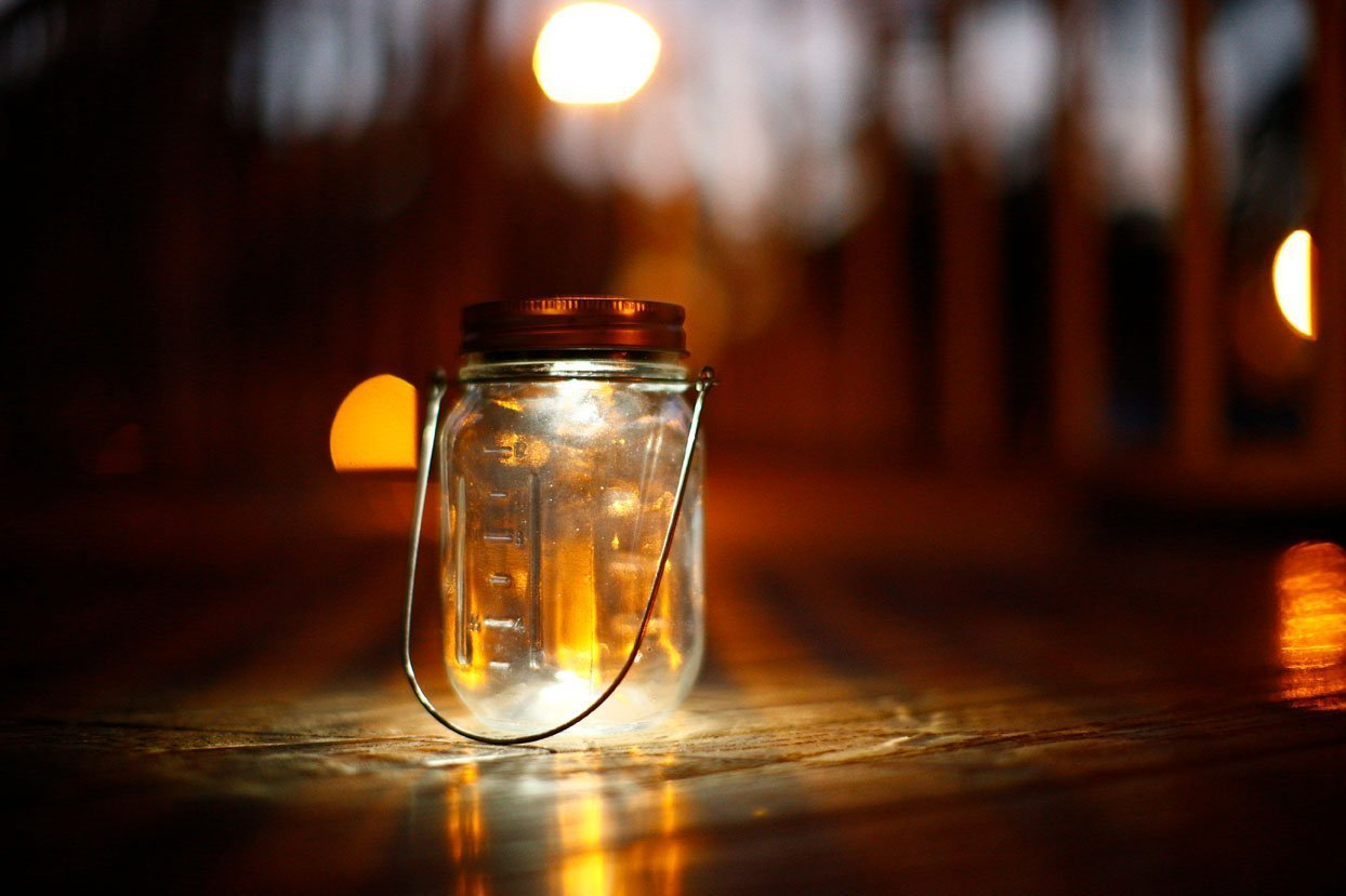 Light Up Your Life With Mason Jar Lid Lights