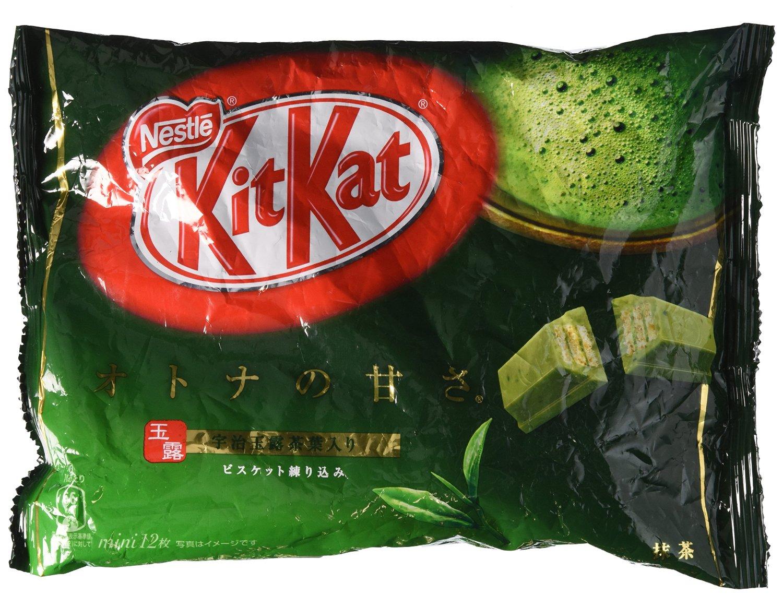 Kit Kit Package - Matcha Green Tea Flavor