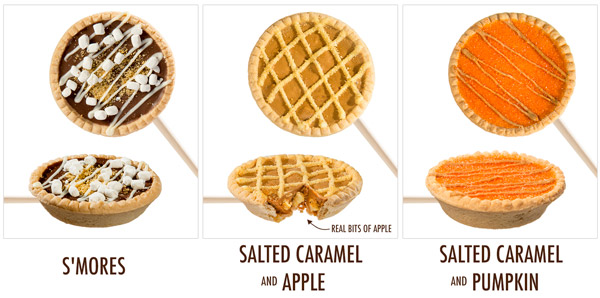 Available in three delicious flavors