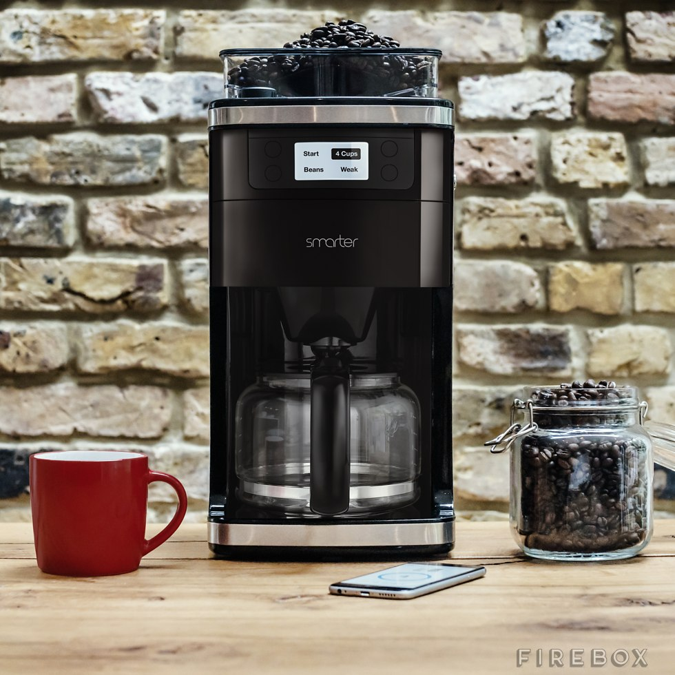 Smart Coffee Maker With Grinder : Smart Coffee Machine With Grinder Does It All