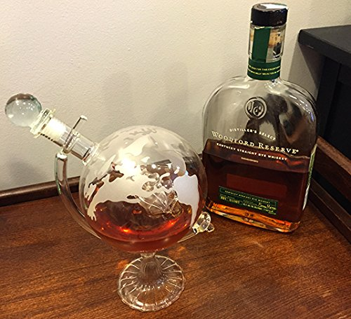 Beautiful solution for storing and aerating your whiskey
