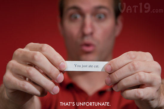 Mean fortune cookies make funny fortune cookies