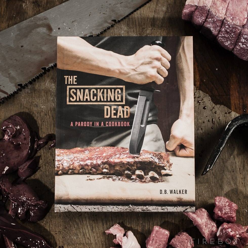 If you ever wanted a Walking Dead cookbook, get this