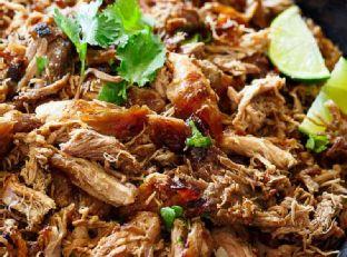 Crispy Pork Carnitas (Mexican Slow Cooked Pulled Pork)
