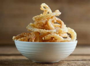 Sweet Cornmeal Onion Rings Image