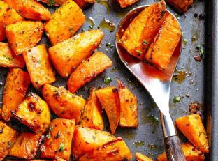 Roasted Sweet Potatoes Image