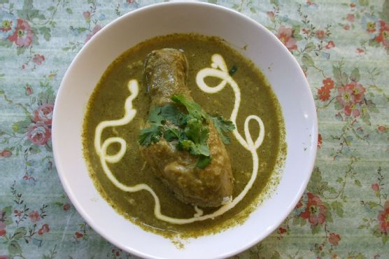 South-Indian Green curry