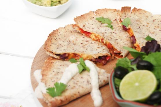 Spicy Vegan Quesadillas