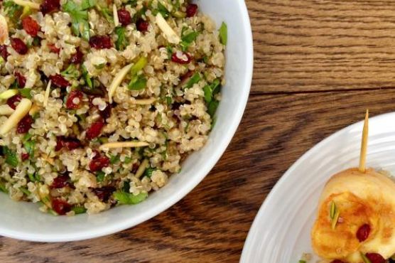 Quinoa Salad with Barberries & Nuts