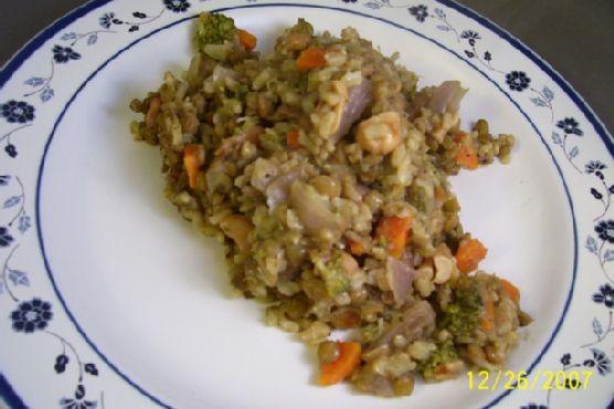 Lentil and Wild Rice Loaf
