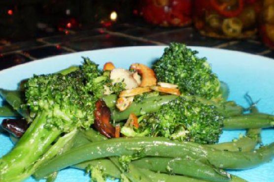 Broccoli and Green Bean Polka