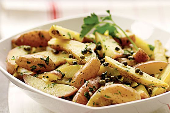 Fingerling Potato Salad with Gremolata Dressing