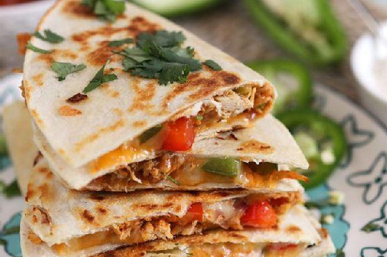 Fajita Style Chicken Quesadilla