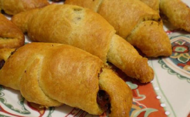 Image of Almost Instant Tomato Basil Crescents
