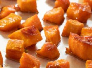 Maple Roasted Sweet Potatoes Image