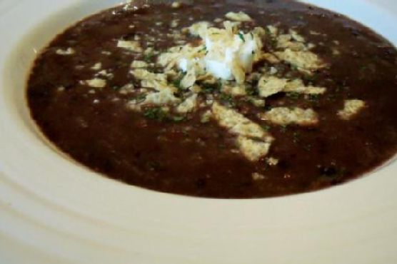 Awesome Healthy Black Bean Soup