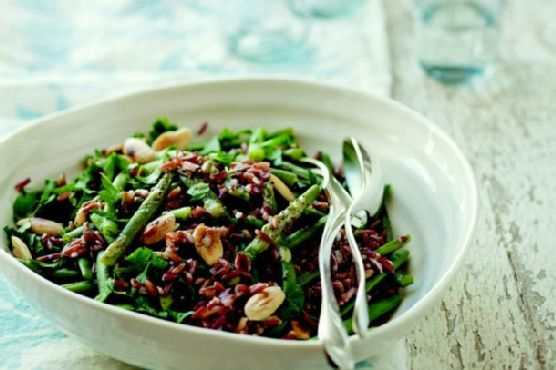 Green Bean, Red Rice, and Almond Salad from 'The French Market Cookbook