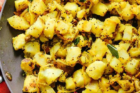 South Indian Dosa Potatoes