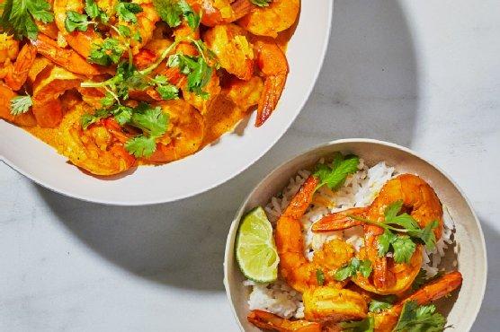 Chungdi Malai (Coconut Shrimp Curry)