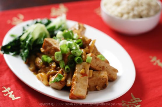 Sichuan Tofu with Garlic Sauce