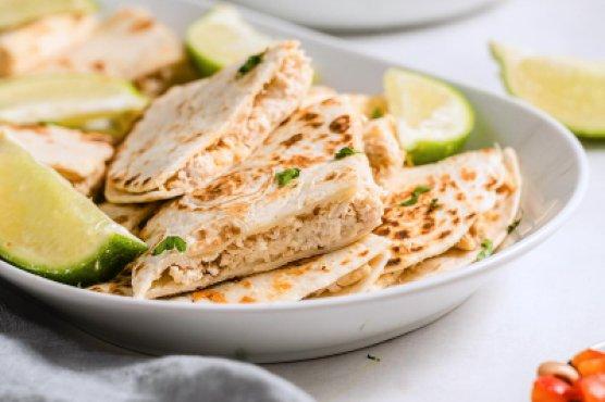 Cream Cheese Quesadillas