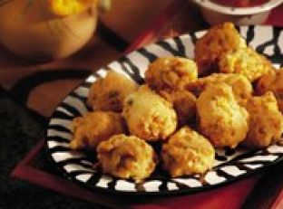 Green Chile Corn Fritters Image