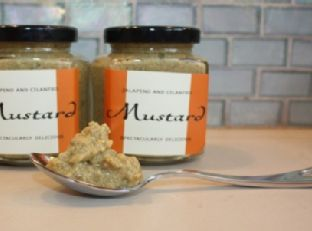Jalapeno Cilantro Mustard Recipe Image