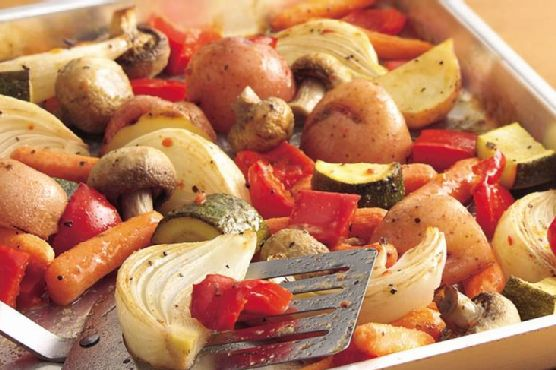 Oven-Roasted Italian Vegetables