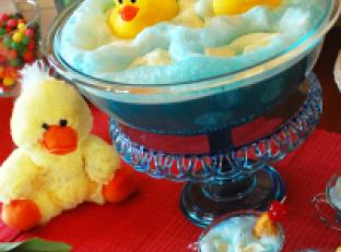 Ducky Bath Baby Shower Punch