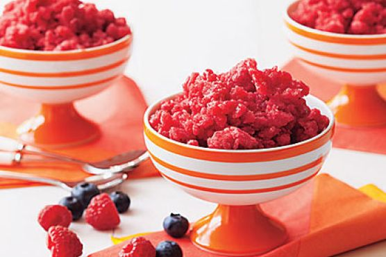 Mixed Berry Granita