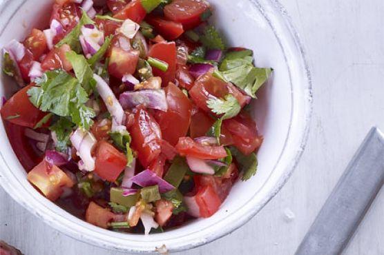 Mexican chopped salad (Pico de gallo)