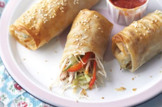 Wrap-your-own spring rolls