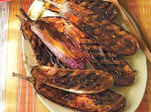Balsamic-Glazed Baby Eggplant Image