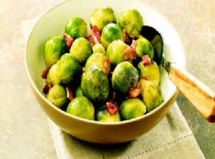 Birds Eye® Brussels Sprouts with Bacon Image