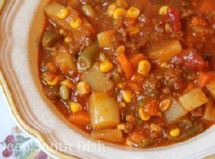 Ground Beef Hobo Stew