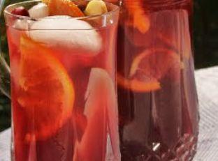 Cranberry Pomegranate Winter Sangria