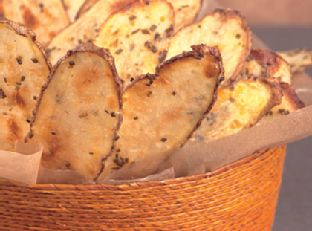 Chive-Parmesan Potato Chips Image