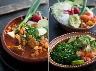 Pozole Rojo (Mexican Pork and Hominy Stew)