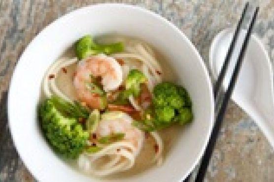 Диетические супы с креветками