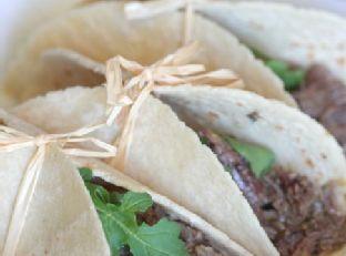 Slow Cooker Salsa Verde Beef | Tacos
