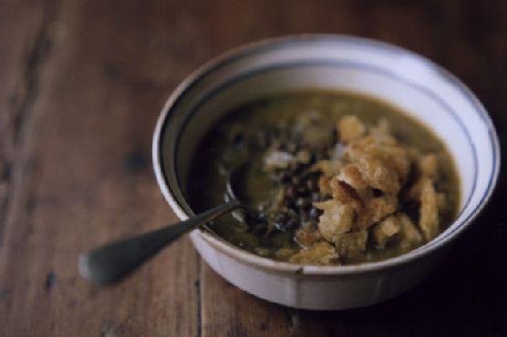 Kabocha French Lentil Soup
