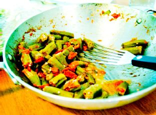 Sautéed Okra and Tomatoes Image