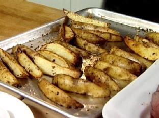 Baked Potato Wedges Image