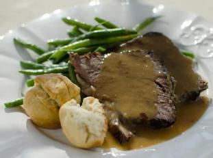 Roast Beef with Gravy Image