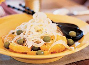 Fennel-Orange Salad with Green Olives Image