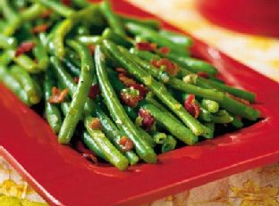 Sautéed Green Beans With Bacon Image