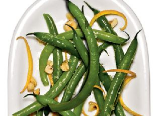 Green Beans with Orange and Hazelnuts Image